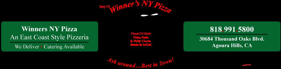 WInners NY Pizza